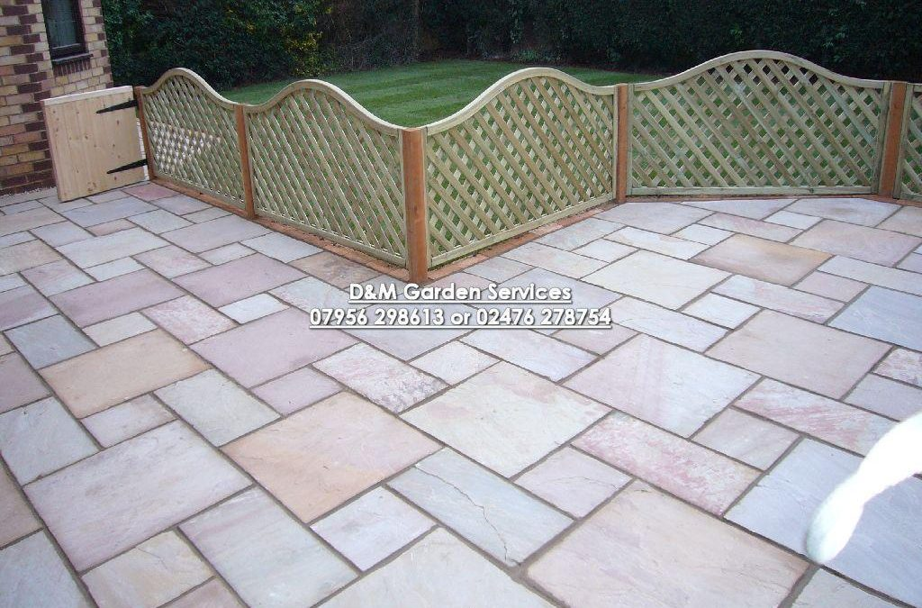 Modac with Trellis Fence and Turf