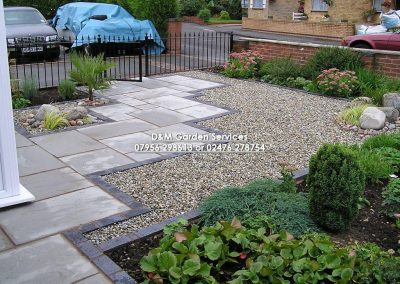 Silver Grey with Gravel & Railings