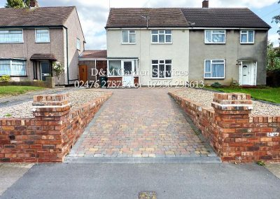 Autumn Setts & Reclaimed Walling